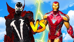 Iron Man VS Spawn - The Dark One Coming - Superheroes Wars GTA 5