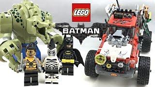 LEGO Batman Movie Killer Croc Tail-Gator review! 2017 set 70907!