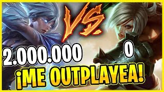 😲¡2 MILLONES RIVEN VS RIVEN FIRST TIME! **ME OUTPLAYEA**