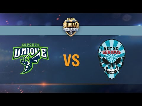 Not So Serious vs UNIQUE - День 6.Сезон II. Gold Series WGL RU 2016/17.