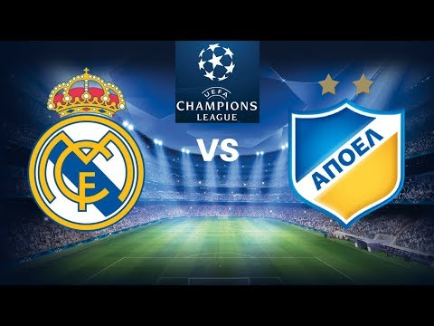 Real Madrid vs Apoel ▪ Highligths & all goals ▪ 13/09/2017 - Simulation FM 2017