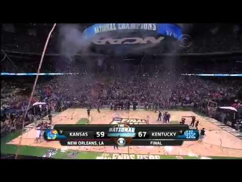 1 Kentucky Wildcats Win the NCAA 2012 Championship