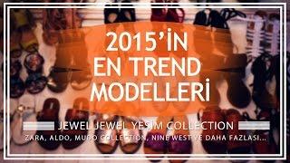 2015'in En Trend Ayakkabı-Sandalet Modelleri