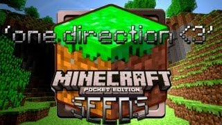 MInecraft PE Seed: Diamond, iron and loads of coal!