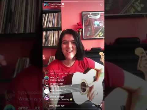 Romy Madley Croft of The xx - Instagram Live Session (4/20/20)