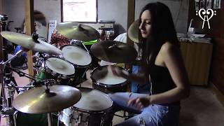 Download IRON MAIDEN - HALLOWED BE THY NAME - DRUM COVER by CHIARA COTUGNO Mp3 and Videos