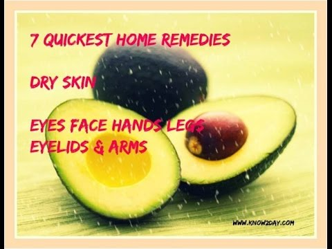 dry face remedies