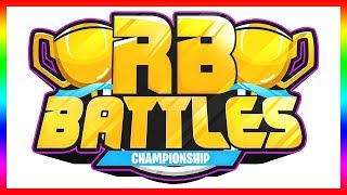 ⚔️ ROBLOX BATTLES CHAMPIONSHIP TOURNAMENT IS HERE! (Everything You Need To Know)