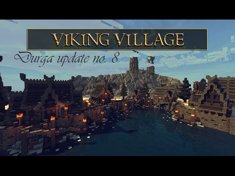 Durga Update №8 - Nordic or Scandinavian Fishing Village (Minecraft)