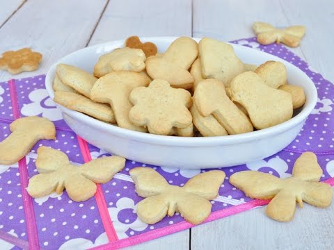 Фигурное печенье — видео рецепт