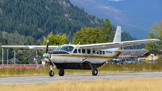 Here is a special catch from CZNL, a Cessna 208B Grand Caravan N72K...