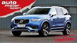 Volvo XC90: Großer Bursche, kleines Herz - Test/Review | auto motor und sport