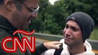 Luis Chataing y el conmovedor testimonio de un joven migrante venezolano