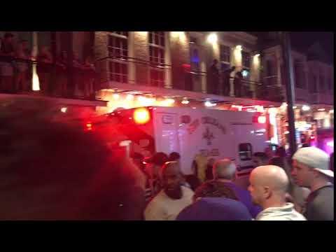 Video from Bourbon Street scene