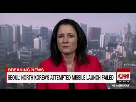 South Korea: North Korean missile test fails. BREAKING NEWS