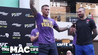 "Dustin Poirier: ""There's gonna be a lot of those funny hats in the streets after this one"""