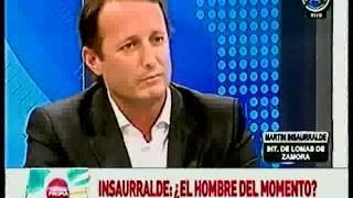 Elecciones 2013 | Martín Insaurralde, intendente de Lomas de Zamora