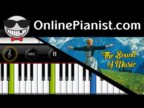 The Sound of Music - Do-Re-Mi - How to play on Piano - Tutorial & Sheets