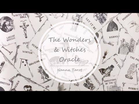 開箱  奇蹟女巫神諭卡 • The Wonders & Witches Oracle // Nanna Tarot