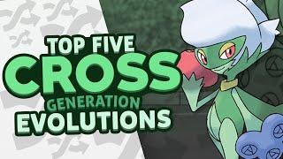Top 5 Cross Generation Evolutions w/ Supra!
