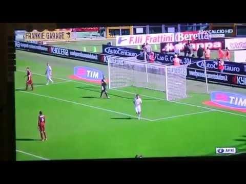 Amazing Goal Lamela- Torino 1-2 Roma Sky HD 2012-2013