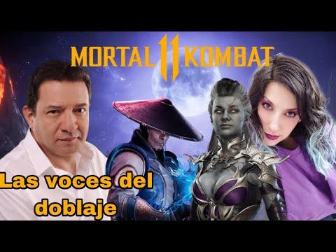 TODOS LOS ACTORES DE DOBLAJE DE MORTAL KOMBAT 11 Ultimate ~ TODAS LAS VOCES en Español Latino ㋛