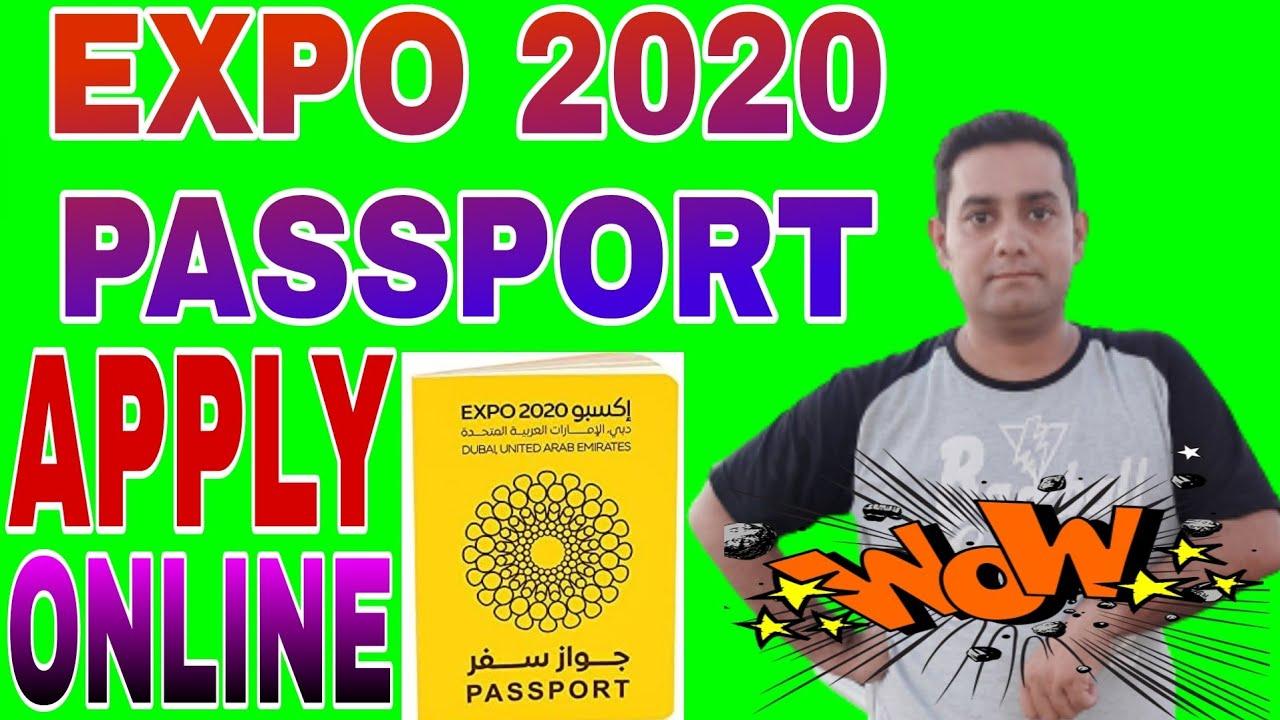 how to get expo 2020 passport online