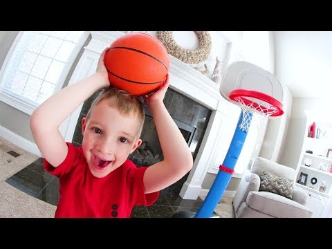 FATHER SON HOUSE BASKETBALL!  /  H.O.R.S.E.
