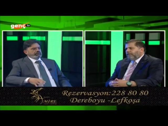 MÜSİAD Kıbrıs Başkanı Okyay Sadıkoğlu, Genç TV de Nazım Topcan ile Ramazan sohbetleri program konuğu oldu
