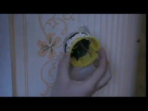 Современная розетка в советской коробке