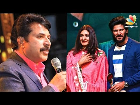 Mammotty stops wife from giving award to Dulquer | Anand TV Film Awards |