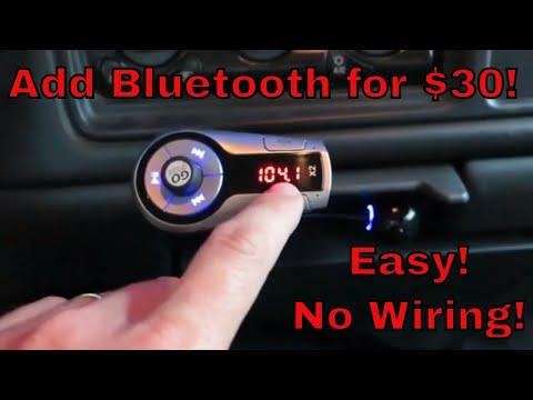 Add Bluetooth To Your Car - No Tools, No Wiring   GoGrove Flexsmart X2