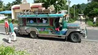 Philippines Kabankalan Jeepney Riding
