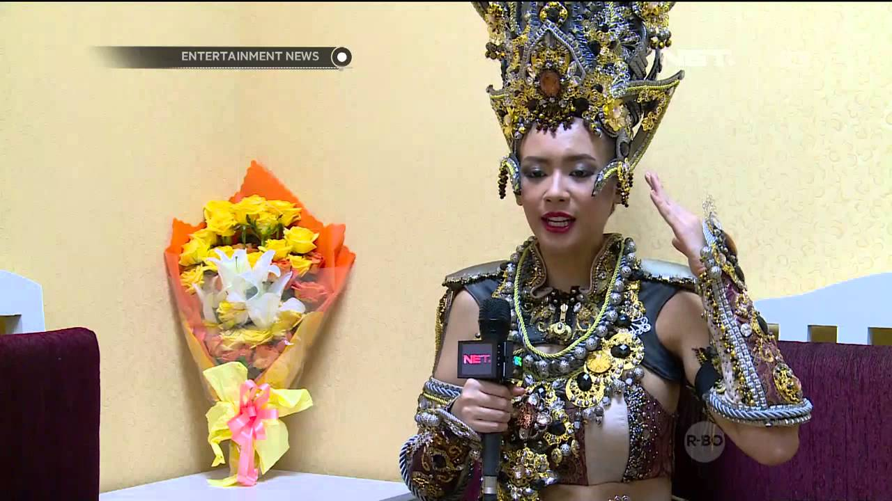 Elvira Devinamira Memenangkan Best National Costume di ...
