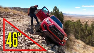 How Is This Not Tipping Over?! (Toyota Tacoma Rescue)