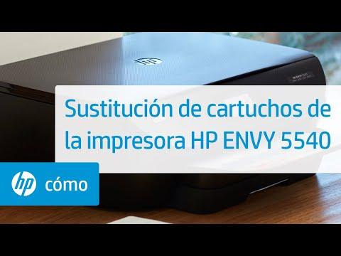 Sustitución de cartuchos de la impresora HP ENVY 5540 | HP ENVY | HP