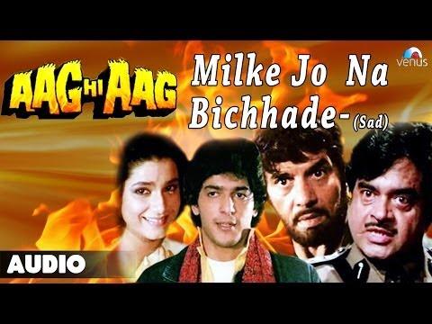 Aag Hi Aag : Milke Jo Na Bichhade Full Audio Song   Chunky Pandey, Neelam  