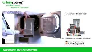 Anleitung: Filter eines Wäschetrockners reinigen