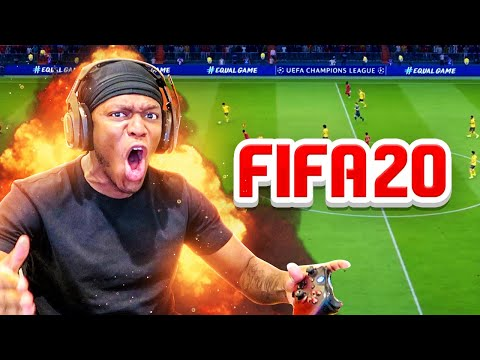Playing Fifa 20