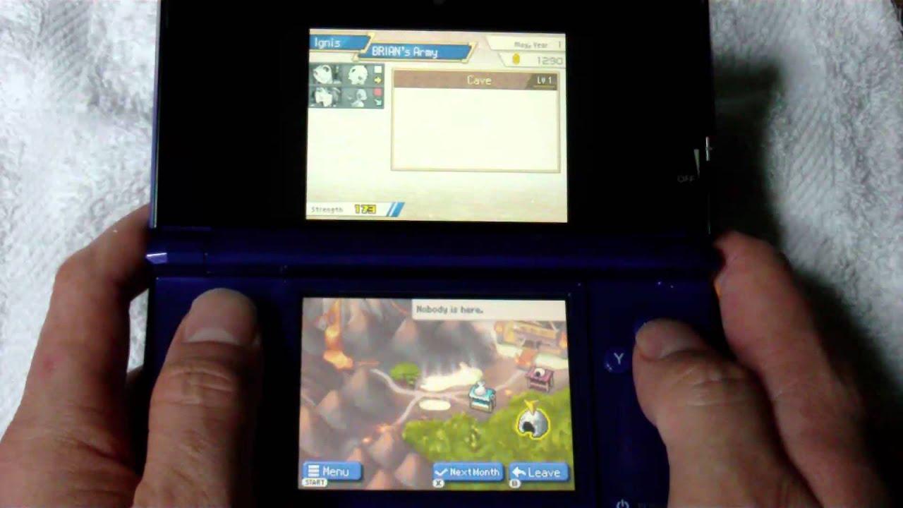 pokemon conquest nintendo 3ds
