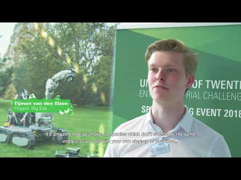 UT Entrepreneurial Challenge: Recap Speed Dating Event 2018