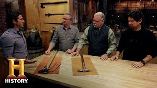 Forged in Fire: War Hammer Deliberation, Round 3 (S2, E1) | History