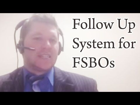 Create a 16 point Follow Up System for FSBOs - Colton Lindsay