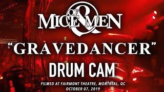 Of Mice & Men - Gravedancer (Drum Cam)