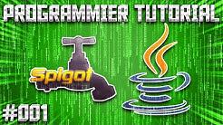 Erstes Minecraft Plugin Projekt erstellen | Minecraft Java/Spigot Plugin programmieren Tutorial