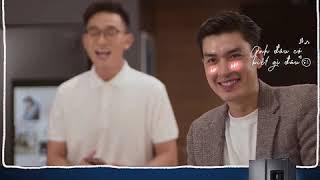 Samsung Family Hub -  Quang Đại tham gia thử thách biến bếp Samsung thành lớp học thả thính