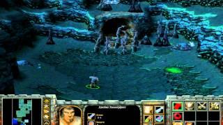 Прохождение Warcraft III-Остров Зомби #2 Спасение