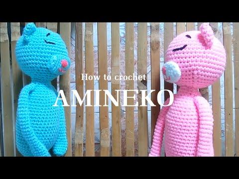 Ravelry: Amineko Crocheted Cat pattern by Nekoyama | 360x480