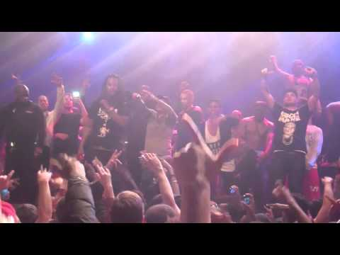 Waka Flocka Flame - Hard In Da Paint/Luv Them Gun Sounds/Melkweg Amsterdam 02-12-2012