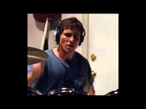 Christian Bale learns Pantera drums for movie - new DevilDriver audio tease!